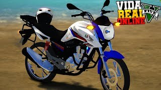 GTA V : VIDA REAL | MINHA 160 HRC A MAIS LINDA DO YOUTUBE 😍 #30
