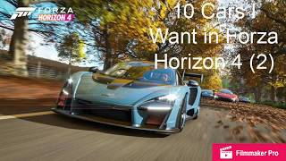 10 Cars I Would Like to See in Forza Horizon 4 (2)