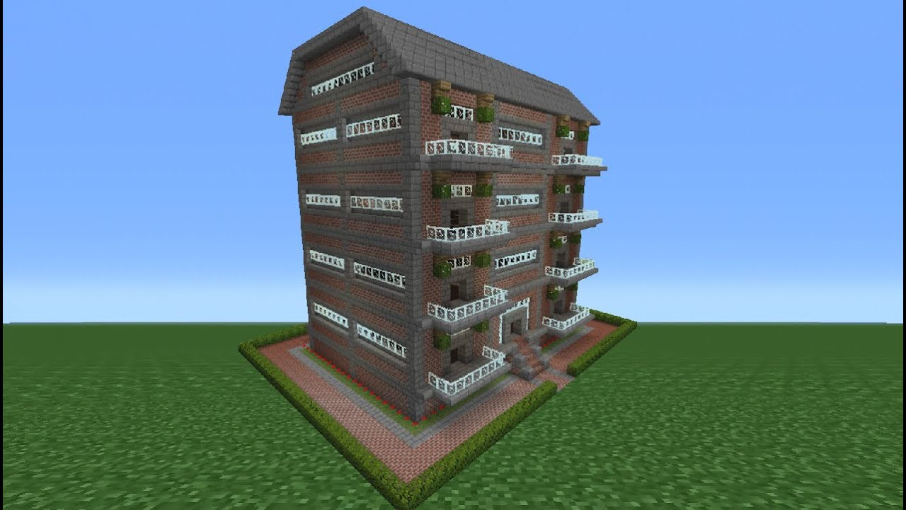 Minecraft Tutorial How To Make An Apartment Complex