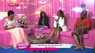 PAROLES DE FEMMES(SE SERVIR DANS SES POCHES) DU MARDI 03 SEPTEMBRE 2019 - EQUINOXE TV