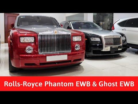 Khám phá bộ đôi Rolls-Royce Phantom EWB và Ghost EWB hàng hiếm giá hơn 20 tỉ Đồng
