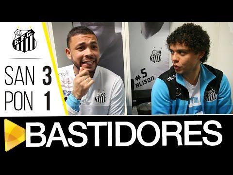 Santos 3 x 1 Ponte Preta | BASTIDORES | Brasileirão (16/07/16)