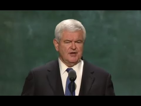 FULL SPEECH: Newt Gingrich & Callista Gingrich - Republican National Convention