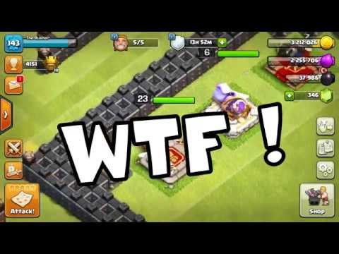 Clash Of Clan Funny Moments 2017 - Clash LOL Funny Montages, Glitches, Trolls #31