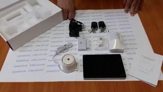 Видеообзор беспроводной охранно-пожарной GSM сигнализации Страж ПРО2