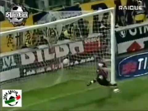 Parma 1-2 Lazio - Campionato 1999/00