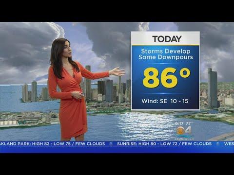 CBSMiami.com Weather @ Your Desk 4-23-18 6AM