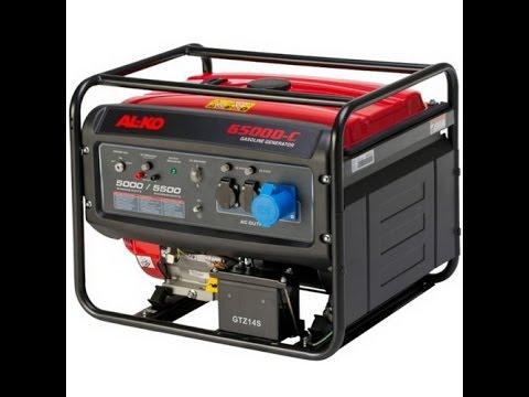 Бензинов монофазен генератор с ел старт AL-KO 6500-C #IRBOp0ibFP4