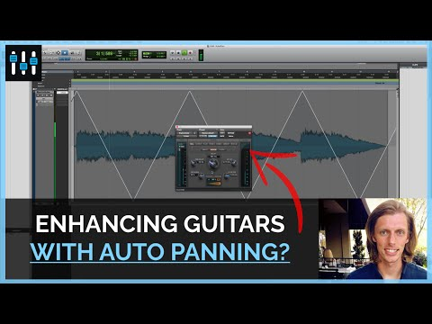 How to Create a Unique Auto Pan Effect on Electric Guitar