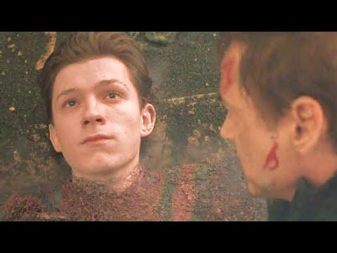 AVENGERS: INFINITY WAR ,Spider-Man death scene
