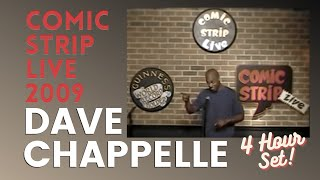 "Dave Chappelle ""Comic Strip Live, NYC"" (2/27/09) AUDIO RESTORED"