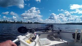Иваньковское водохранилище в июле