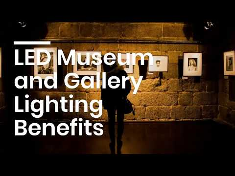 utilizing led lighting in museums and