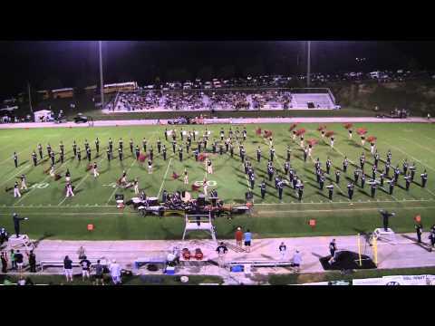 2012 SDHS Marching Trojan Band Game 3 Half...