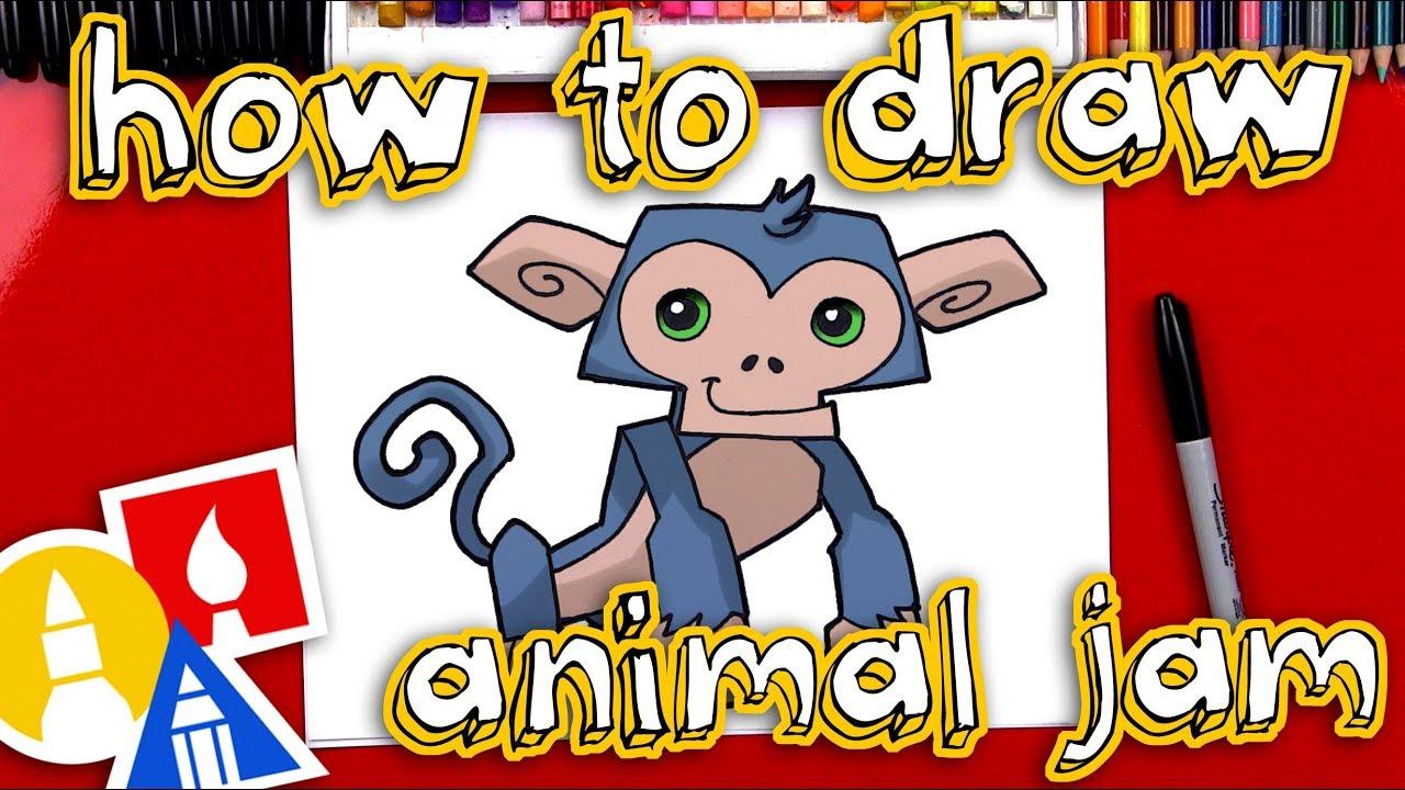 How To Draw Animal Jam Art