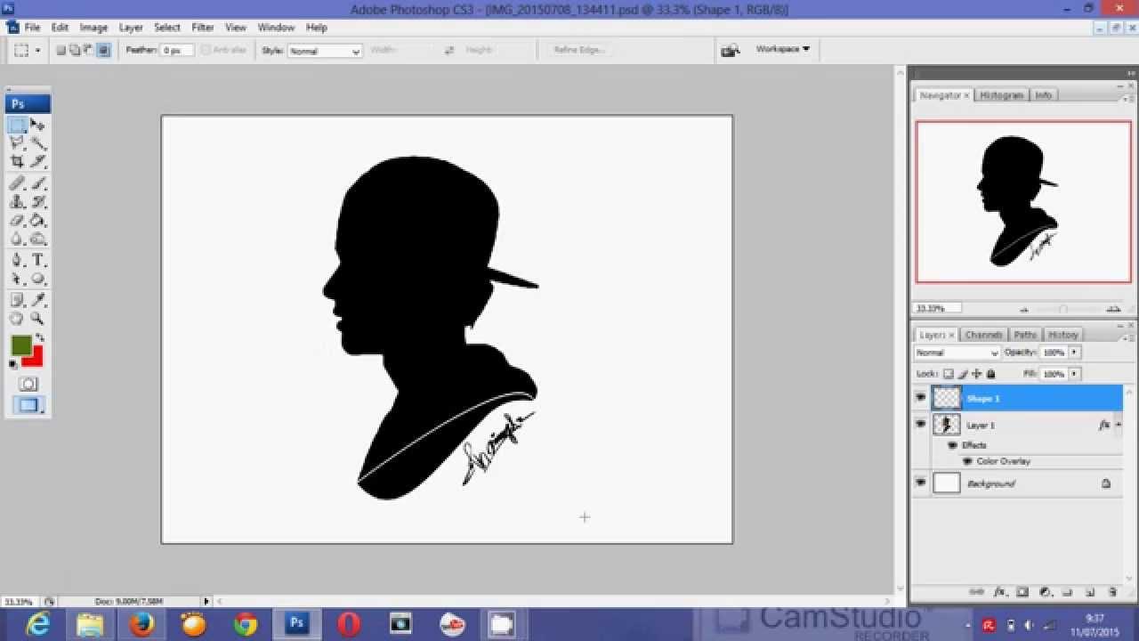 tutorial edit foto di photoshop CS3-by Riki irawan - YouTube