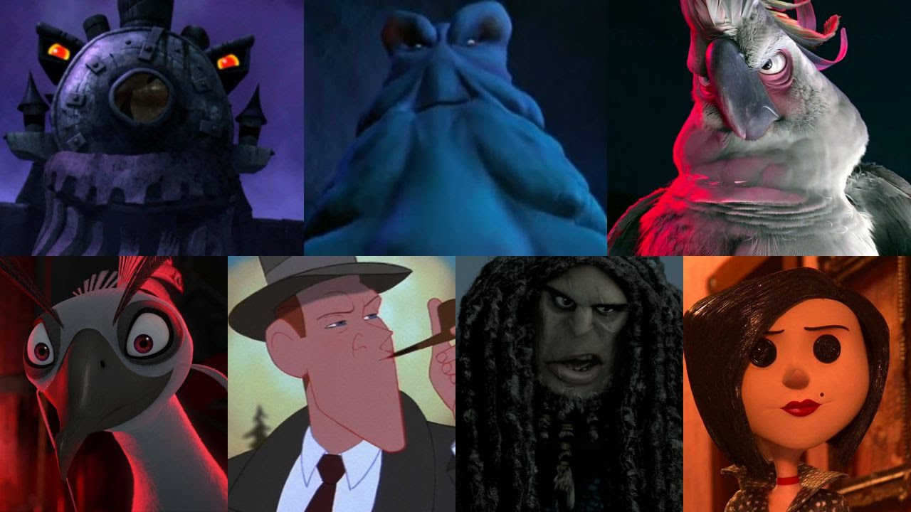 Defeats Of My Favorite Animated Non Disney Movie Villains Part Iii Youtube