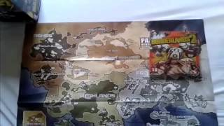UNBOXING BORDERLANDS 2 Delux Vault Hunter