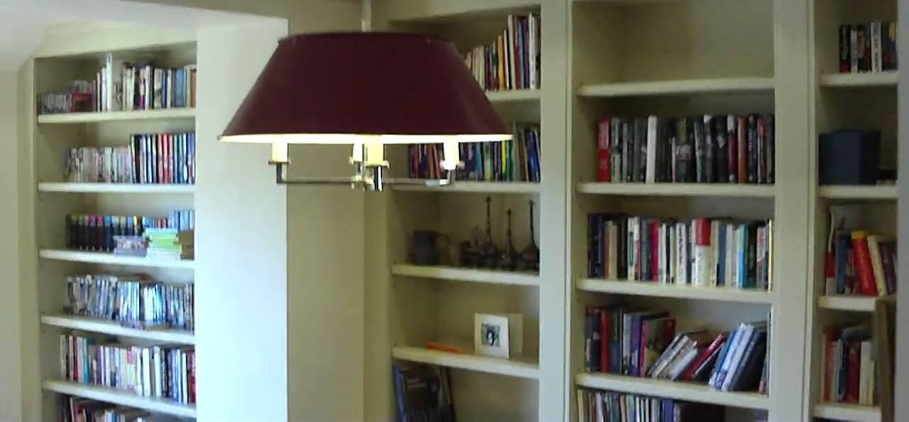 Secret bookcase doors YouTube