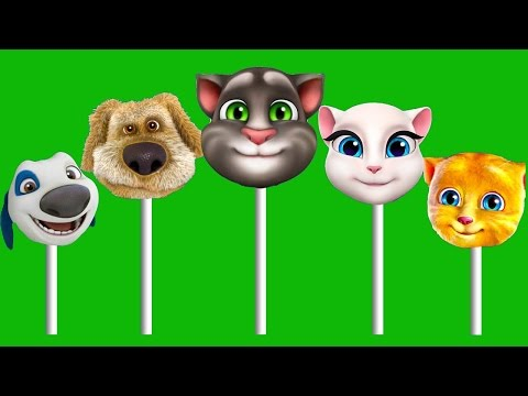 Thumbnail: Talking Tom and friends Finger family Play Doh Parody Song 2