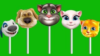 Talking Tom and friends Finger family Play Doh Parody Song 2