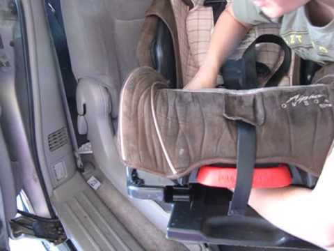 Eddie Bauer Car Seat Assembly