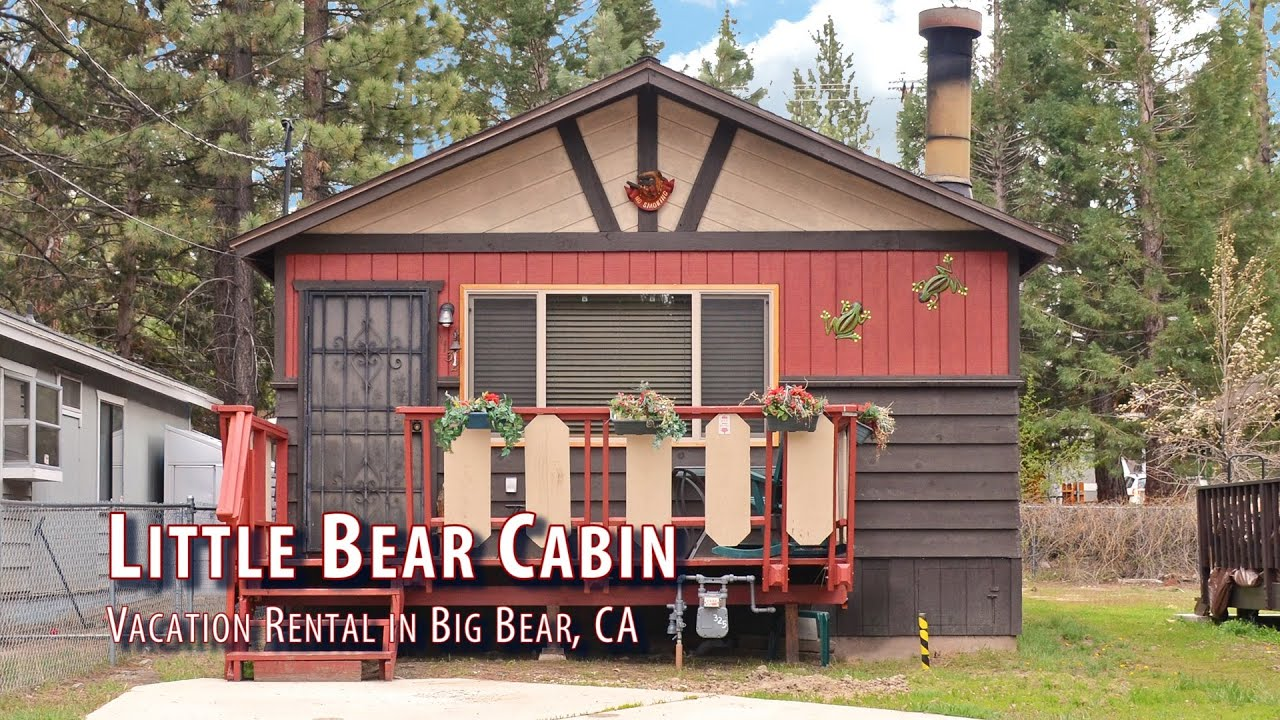 Little bear cabin 2 bedroom vacation rental in big bear Big bear cabins california