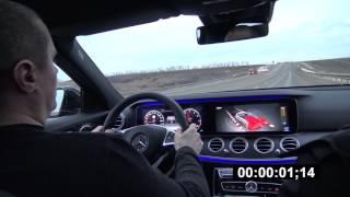 0-100 km/h Mercedes E400 2017 W213