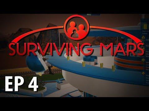SURVIVING MARS | Space Bar | Ep 4 | Surviving Mars Gameplay Walkthrough