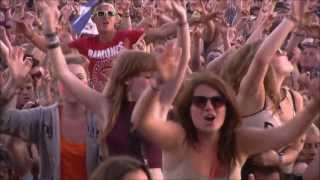 The Killers, Somebody Told me -T in the Park 2013