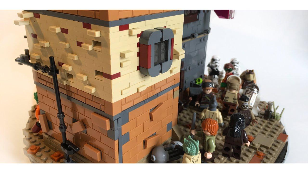 Lego Star Wars MOC - STREETS OF AKIVA