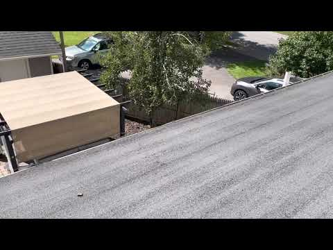Flat roof with
