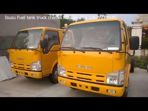 custom made ISUZU Fuel tanker Oil tank truck for sale