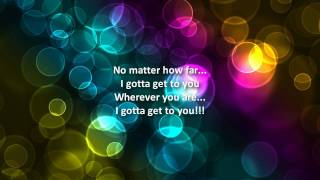 Christina Milian - I Gotta Get To You (+lyrics)