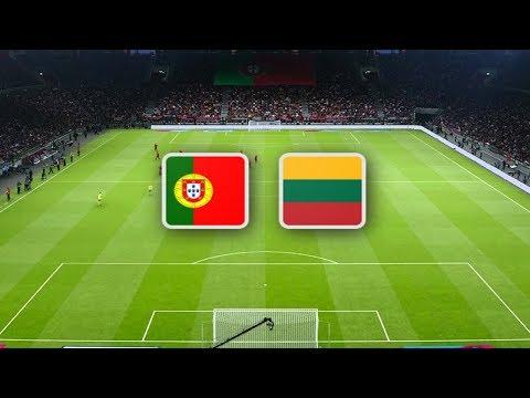 Португалия - Литва обзор матча сборных