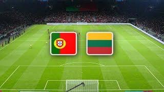 Португалия Литва обзор матча сборных