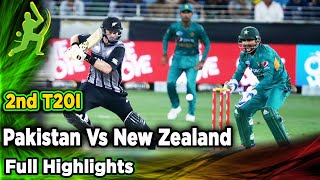 Pakistan Vs New Zealand | 2nd T20I | Full Highlights | PCB | MA2F