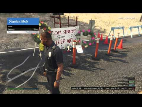 GTA 5 How To Use Scene Creator For Director Mode [New Gen Console Only]