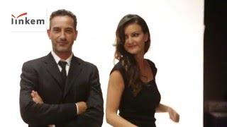 Backstage spot Linkem con Matteo Viviani - Una Iena al parco