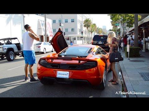 OOPS! How do I open the door on the McLaren MP4-12C? Start Up & Sound