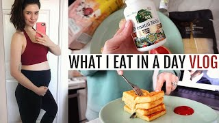 What I Eat (Pregnancy Edition!) & Maternity Workout Haul | Food Diary Friday | Melanie Murphy ad