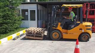 Yeni Ümit Forklift Ehliyeti