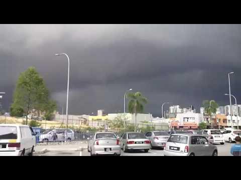 Dark black cloud and Good weather in Pune🌏🌎🌍🗾🗾🌅🌄🎪