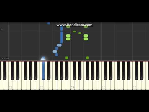 Beyer No  8 Synthesia Piano Tutorial