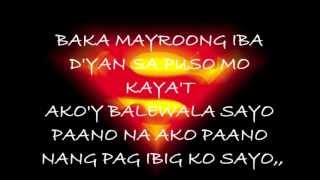 BAKA MAYROONG IBA,, with LYRICS by jerome abalos