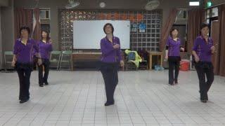 Latin Lambada Line Dance 拉丁黏巴達 (含分解數拍): 基礎提升級排舞