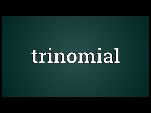 Trinomial Meaning
