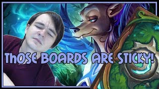 Those boards are sticky! | Token druid | The Witchwood | Hearthstone