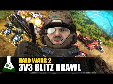 Halo Wars 2 - Blitz Brawl! (3v3 Gameplay)