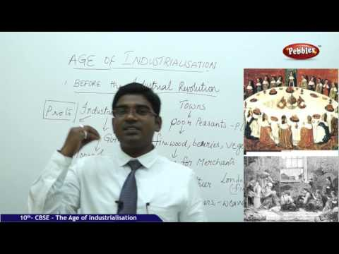 The Age of Industrialisation - Class 10th CBSE Social Studies Syllabus Live Videos